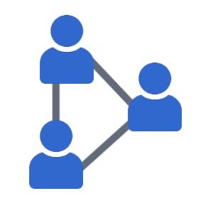 Real-peer network