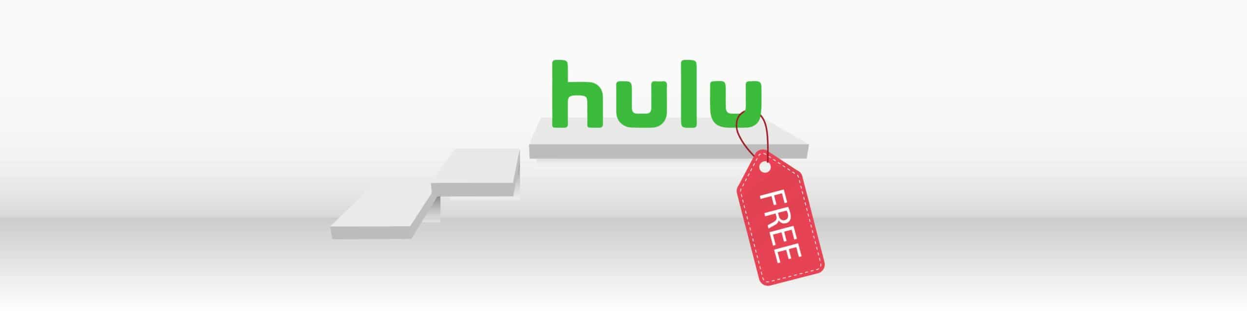 hulu for free with two tricks