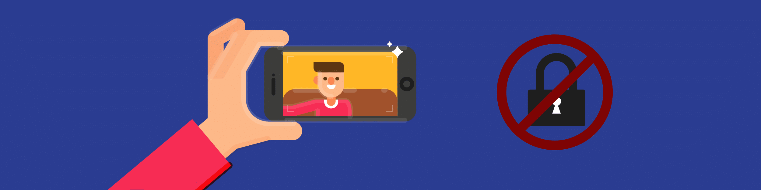 How selfies are a security risk