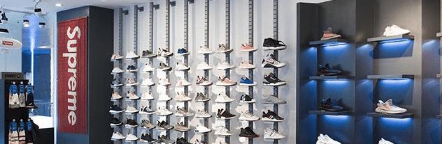 Supreme sneaker server location